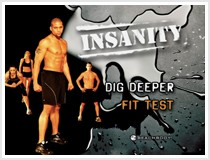 Insanity Dig Deeper Fit Test
