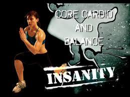 Insanity Core & cardio balance