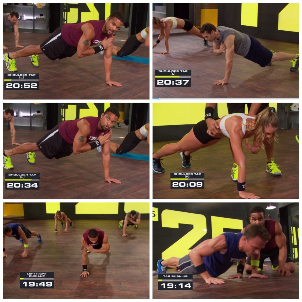 Focus T25 Shoulder Tap Total Body Circuit