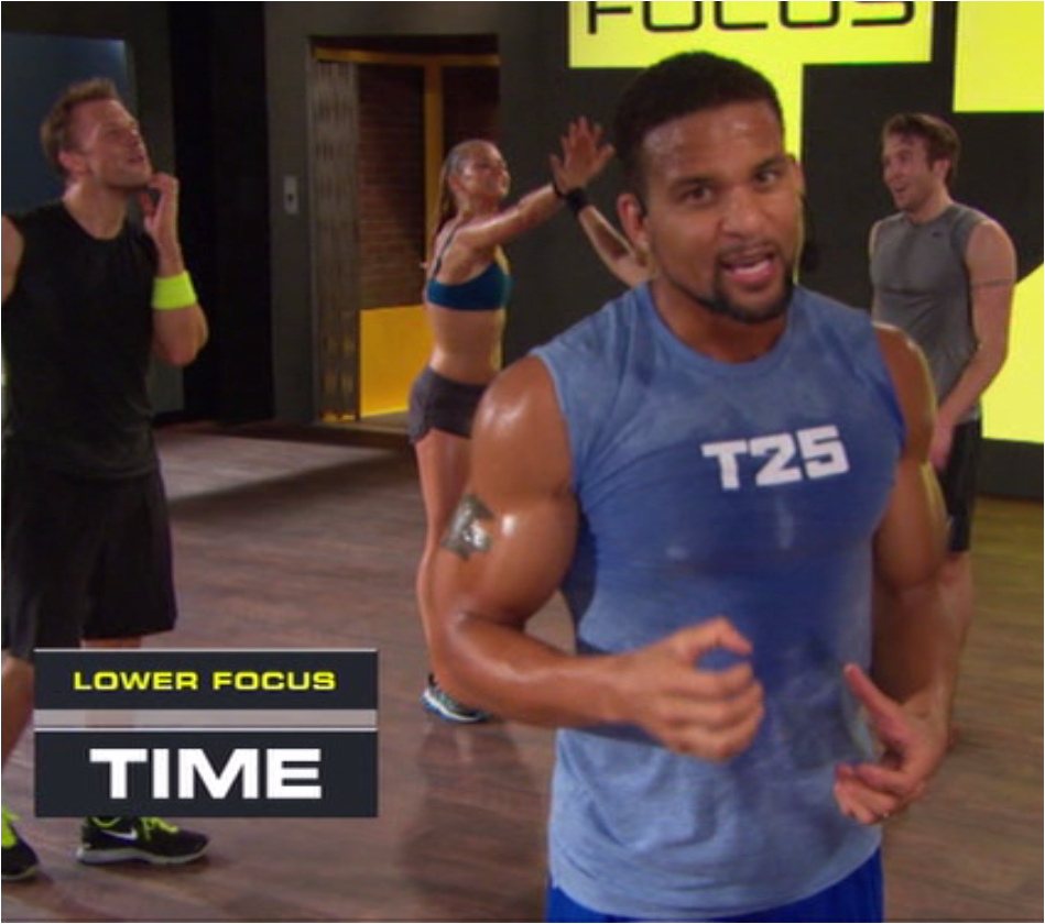 Focus T25 Lower Time