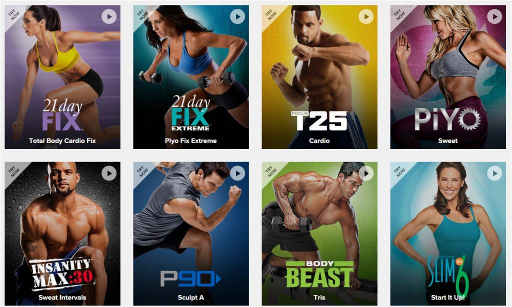 BeachBody on Demand nouveaux programmes