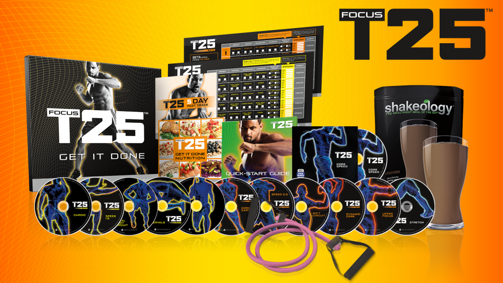 Focus T25 Challenge Pack