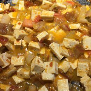 Tofu aux épices Thai à la noix de coco
