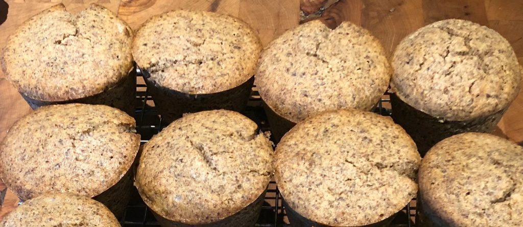 Muffins Cannelle Cardamome keto